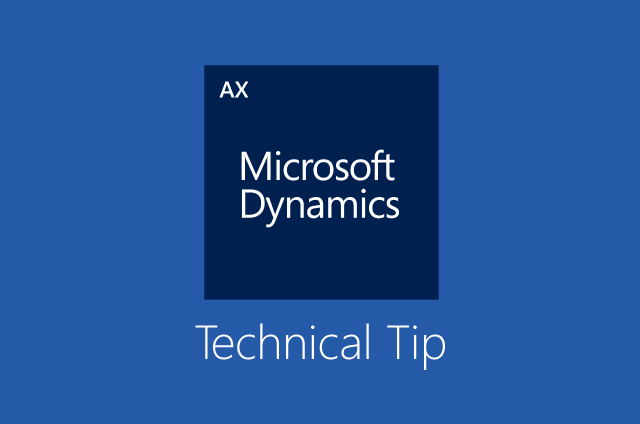 dynamics-ax-technical-tip